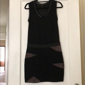 BCBG MAXAZRIA  Black Sleeveless Cocktail Dress M